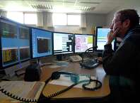 Emmett McGregor fields calls at the Albany County Sheriff's Department 911 dispatch center Friday, June 5, 2009, in New Scotland, N.Y.  (Will Waldron / Times Union archive)