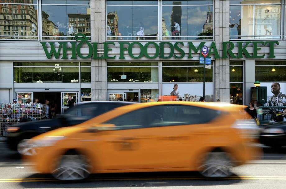 This Whole Foods is in New York's Union Square. The chain was accused of overcharging customers.  Photo: Julie Jacobson, STF / AP