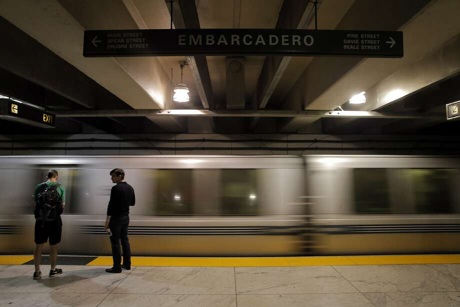 Here's a look at the most and least crowded stops on the BART system, based on November 2015 ridership data.  Photo: Carlos Avila Gonzalez, The Chronicle