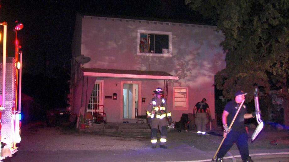 a man received minor burns after sparking a fire on the north side wednesday night - Magenta Apartment 2015