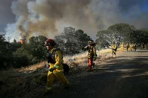 Lake County fire grows to 8,000 acres - Photo