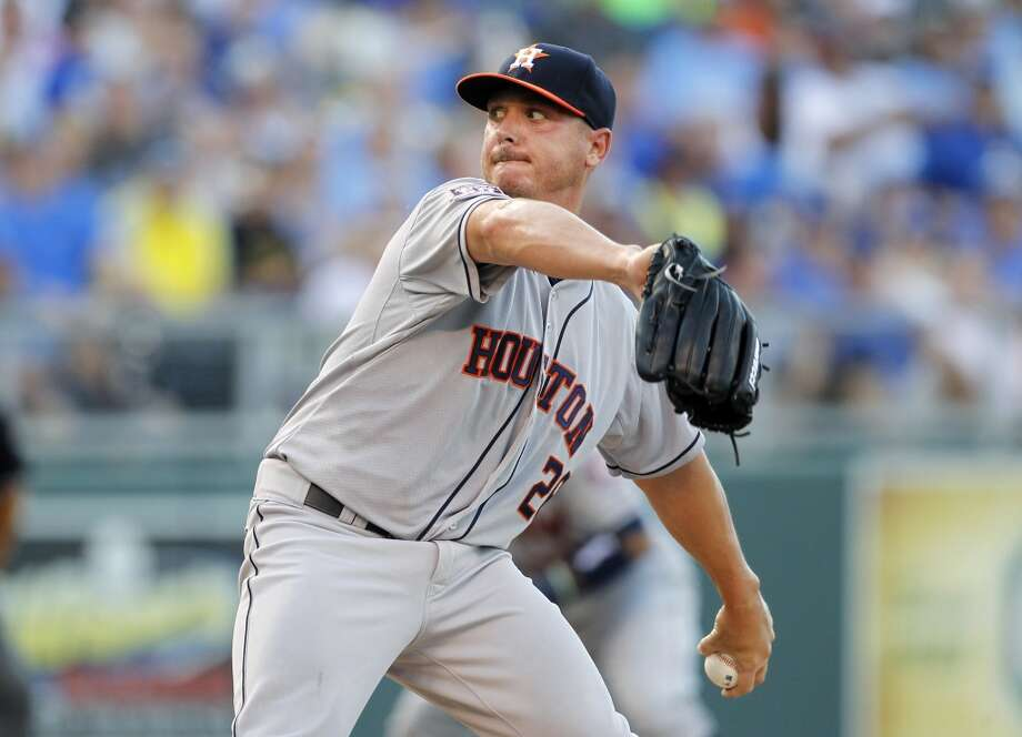 July 23  Astros get: LHP Scott Kazmir  A's get: RHP Daniel Mengden and C Jacob Nottingham Photo: Colin E. Braley, Associated Press