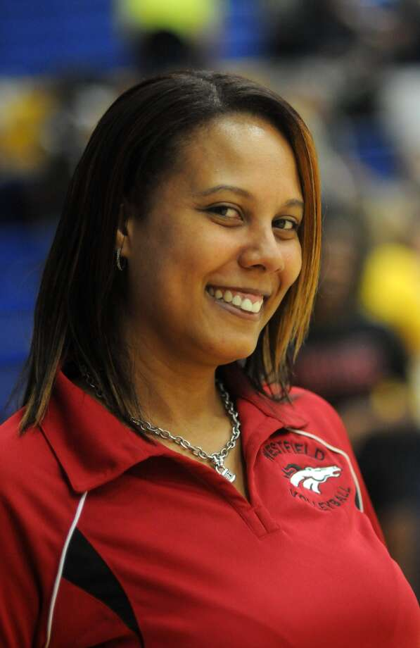Westfield Head Volleyball Coach Tamesha Chambers Photo: Jerry Baker, Freelance