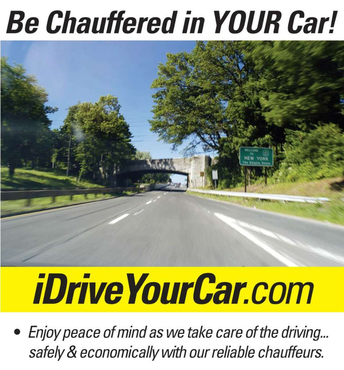 Fairfield-based iDriveYourCar.com is experiencing success in today's down economy by offering cheaper alternative to a limo service.