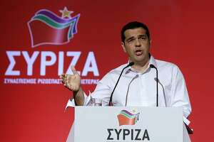 Greek leader seeks to quash political rebellion with party vote - Photo