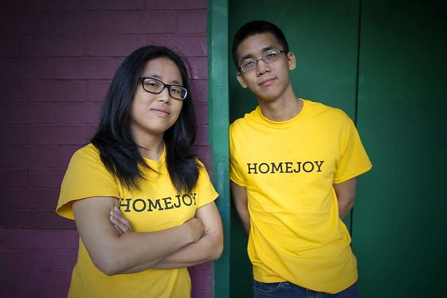 Adora Cheung and Aaron Cheung founded the cleaning service Homejoy, which recently announced that it would be shutting down. Photo: Associated Press
