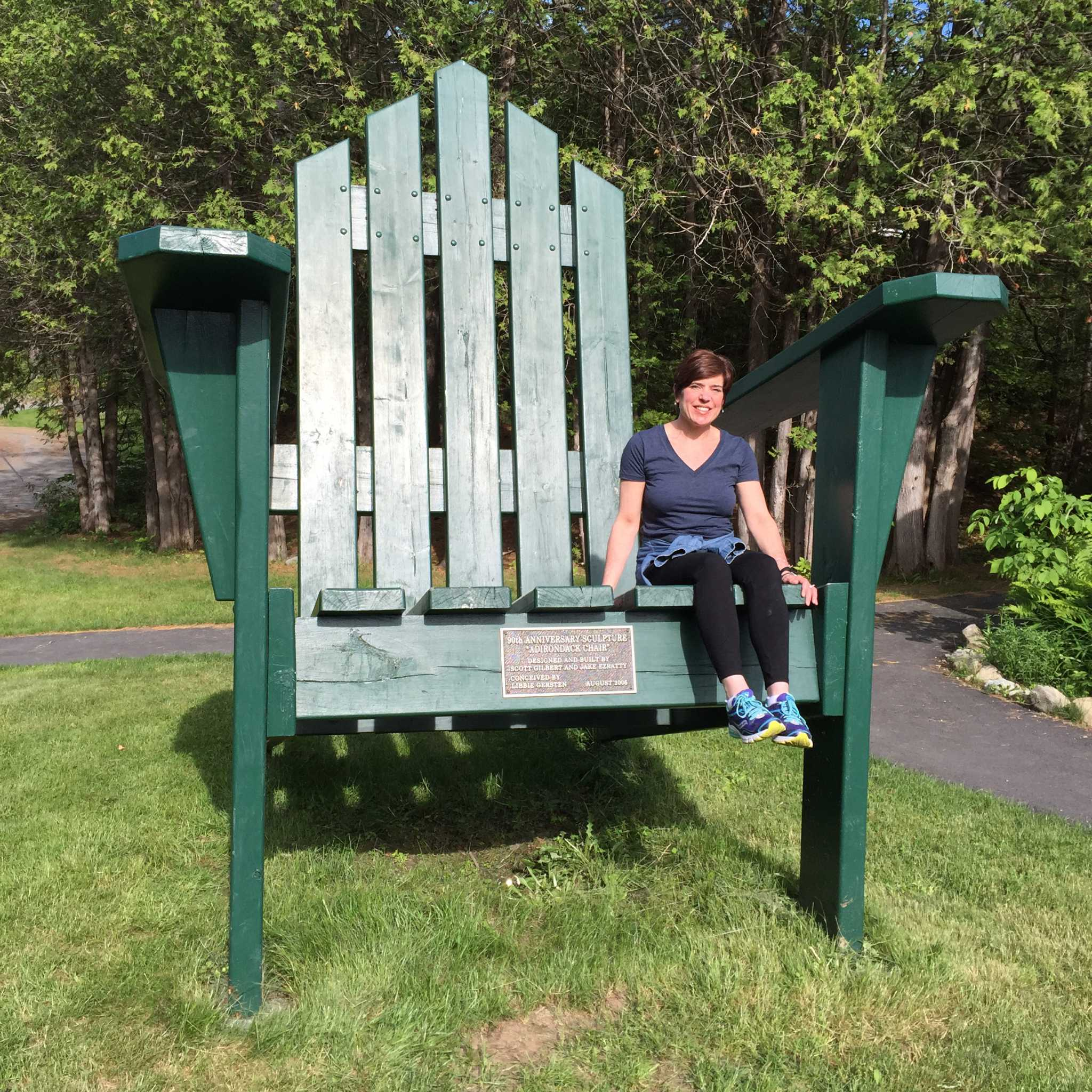 The great Adirondack chair tour Times Union
