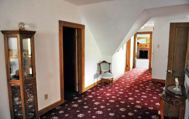 Third floor hallway of Mike Chrys' 19C house on the shores of Lake George Friday June 12, 2015 in Bolton Landing, NY.   (John Carl D'Annibale / Times Union) Photo: John Carl D'Annibale / 00032208A
