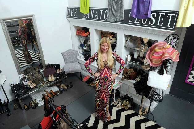 Eliza DeRocker owner of Saratoga Closet on Friday May 29, 2015 in Saratoga Springs, N.Y.  (Michael P. Farrell/Times Union) Photo: Michael P. Farrell / 00031984A