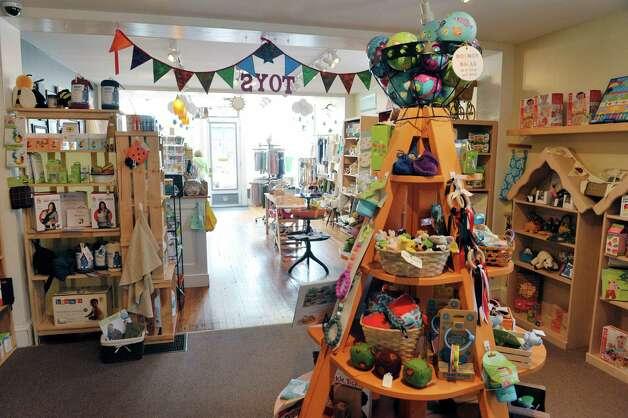 A view inside The Bee's Knees store on Warren St. on Warren St. on Thursday, June 25, 2015, in Hudson, N.Y.   (Paul Buckowski / Times Union) Photo: PAUL BUCKOWSKI / 00032353A