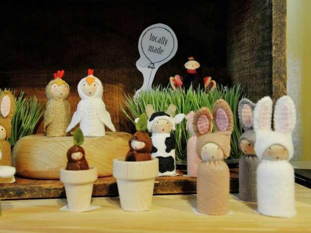 A view some handmade toys inside The Bee's Knees store on Warren St. on Warren St. on Thursday, June 25, 2015, in Hudson, N.Y.   (Paul Buckowski / Times Union) Photo: PAUL BUCKOWSKI / 00032353A