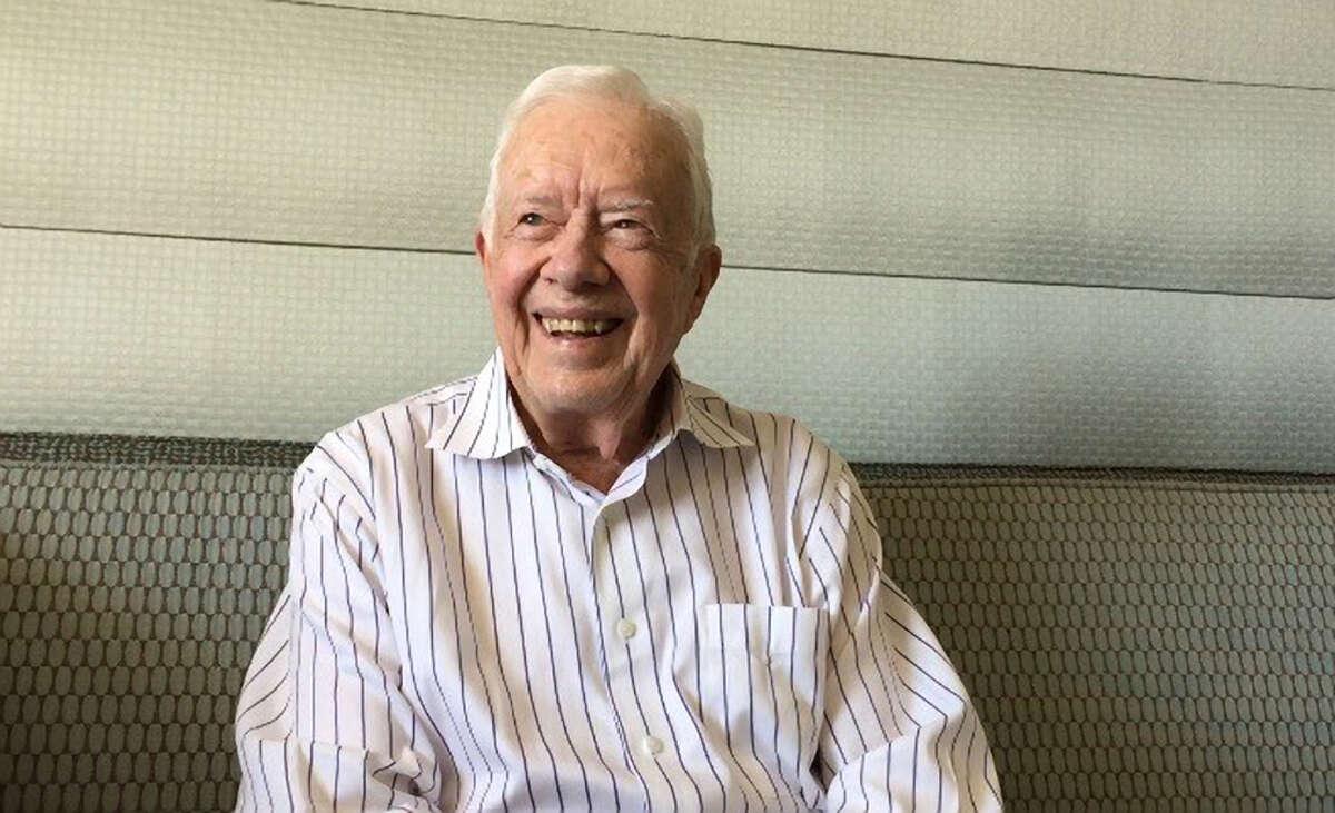 Jimmy Carter in San Francisco.
