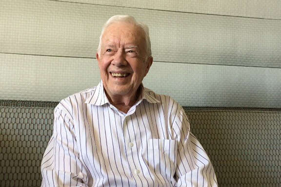 Jimmy Carter in San Francisco.