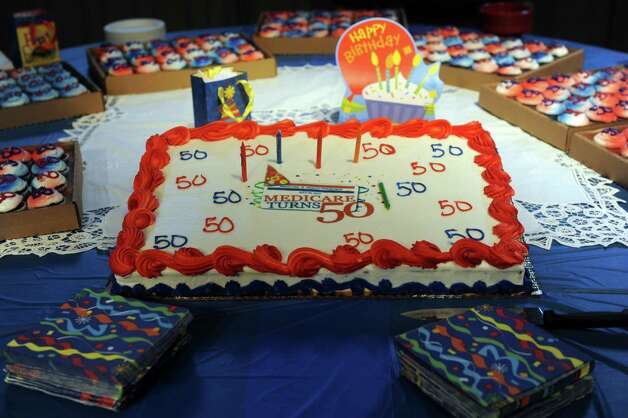 A Medicare 50th birthday bash was held at Cohoes Music Hall on Thursday July 30, 2015 in Cohoes, N.Y. (Michael P. Farrell/Times Union) Photo: Michael P. Farrell / 00032791A