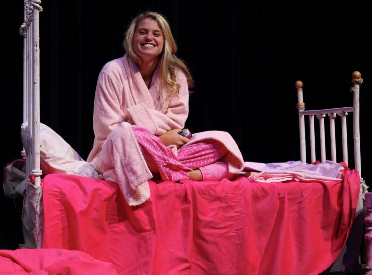 Amanda Fitzburgh plays Elle Woods in the Fairfield Teen Theatre's production of
