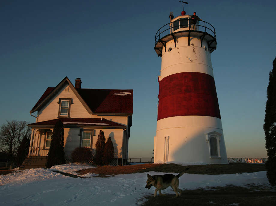 Coast Guard Sector Long Island Sound is scheduled to open the historic Stratford Point Lighthouse in Stratford, Connecticut, for free public tours on Saturday, August 8, 2015. Photo: Brian A. Pounds / Connecticut Post / Connecticut Post