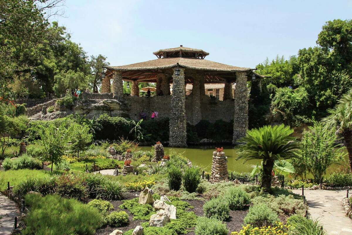 The Japanese Tea Garden in San Antonio has had a bit of a rebirth following renovations to the landscaping, ponds and pavilion.