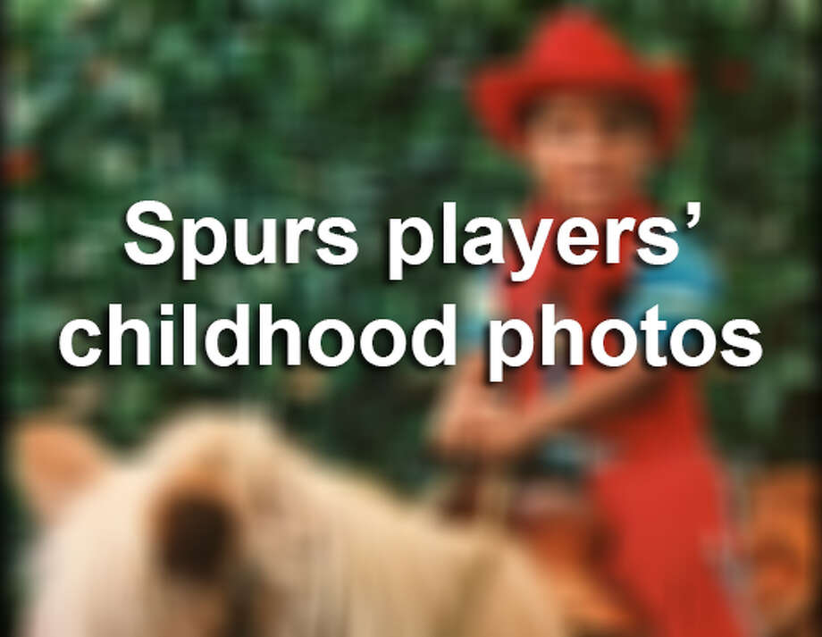Awkward eighth grade photos, the traditional cowboy gear baby photoshoot, these Spurs childhood photos are almost no different from your own.