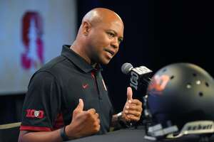 Stanford's David Shaw trying to get everyone with the program - Photo