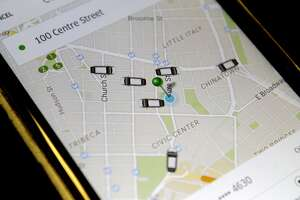 Uber's app may show phantom cars - Photo