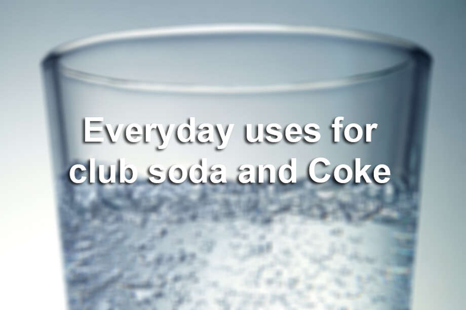 Those bubbles aren't only for your drink. See what else Prevention magazine says you can do with club soda, and keep clicking for things you can do with Coca-Cola. Photo: Lumina Imaging, Getty Images / (c) Lumina Imaging