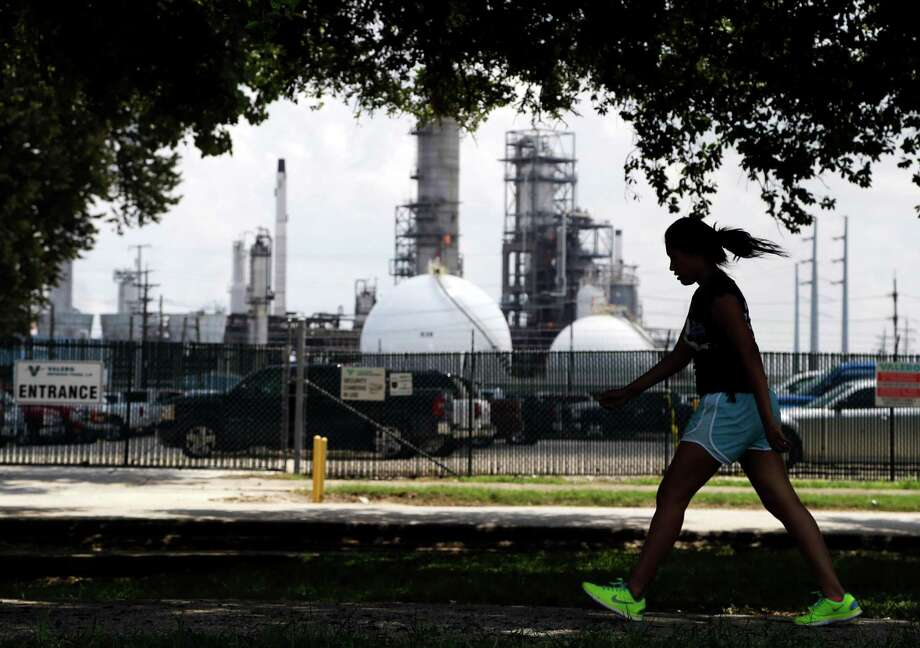 Refining giant Valero Energy is spending $800 million to retool two refineries in Houston, shown here, and Corpus Christi to process more of the lighter domestic oil. Instead of spending $1 billion or more to overhaul plants like they did years ago to process heavy, sour crudes, many independent refiners are eyeing smaller and much cheaper projects. Photo: Associated Press File Photo / AP