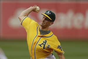A's listless in 3-1 loss to Indians - Photo