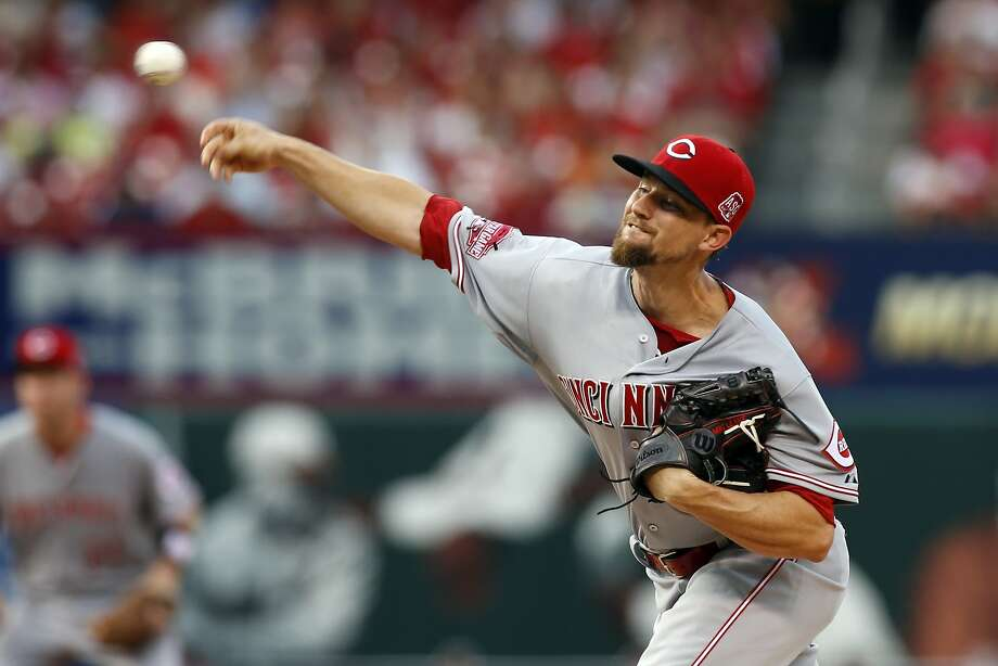 In 21 starts with the Cincinnati Reds this season, 27-year-old Mike Leake went seven or more innings in 11 of them. Photo: Scott Kane, Associated Press