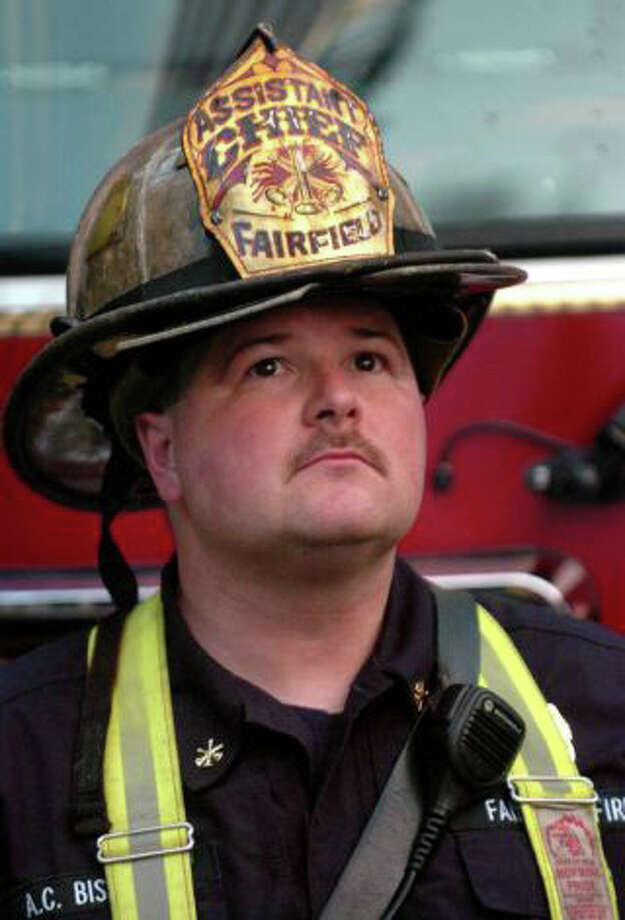 Fairfield Asst. Fire Chief Scott Bisson is one of two finalists for fire chief. Photo: File Photo /Fairfield Citizen / Fairfield Citizen