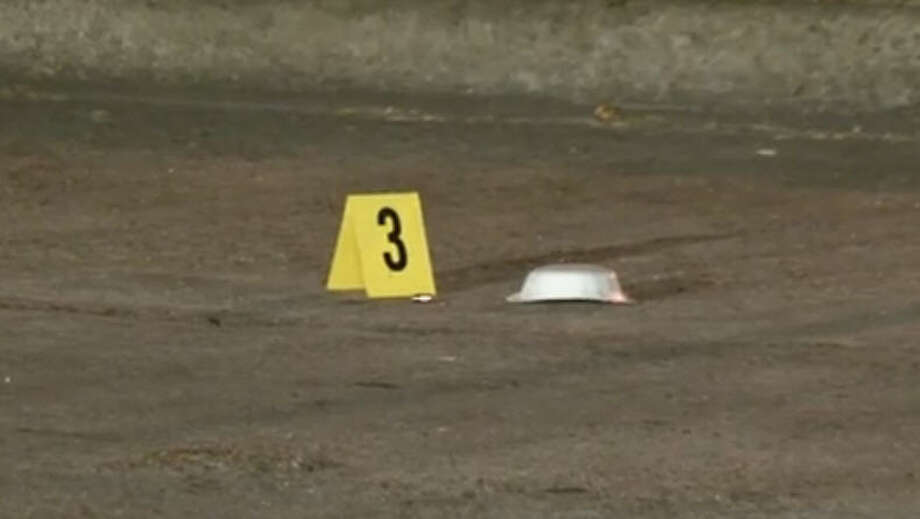 A man died Thursday night in a drive-by shooting in southwest Houston. The shooting occurred on Dunlap near Bellaire. Photo: Metro Video