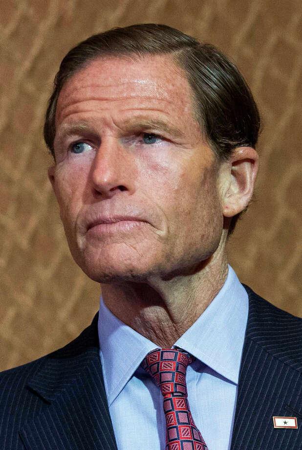 Sen. Richard Blumenthal (D-CT) Photo: Drew Angerer / Getty Images / 2015  Getty Images