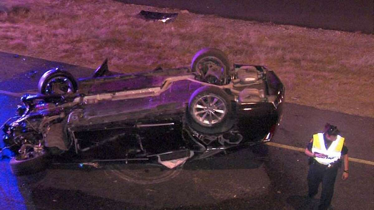 A man was critically injured in an overnight rollover crash July 31 on Loop 1604.