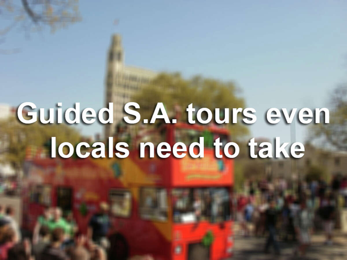 There are dozens of guided tours that even born-and-bred S.A. natives need to try at least once-if only to meet the spirited personalities that serve as ambassadors to our hometown.