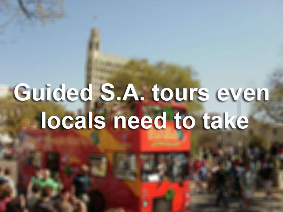 There are dozens of guided tours that even born-and-bred S.A. natives need to try at least once—if only to meet the spirited personalities that serve as ambassadors to our hometown. Photo: San Antonio Express-News