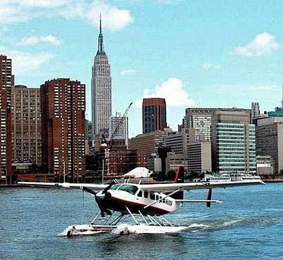 Tailwind, located at the Volo Aviation at Sikorsky Memorial Airport in Stratford, Conn., recently announced a new sea plane service connecting Bridgeport with Manhattan, Boston, and Philadelphia. The sea planes land in the East River in New York City, Photo: Tailwind Photo / Tailwind Photo / Connecticut Post