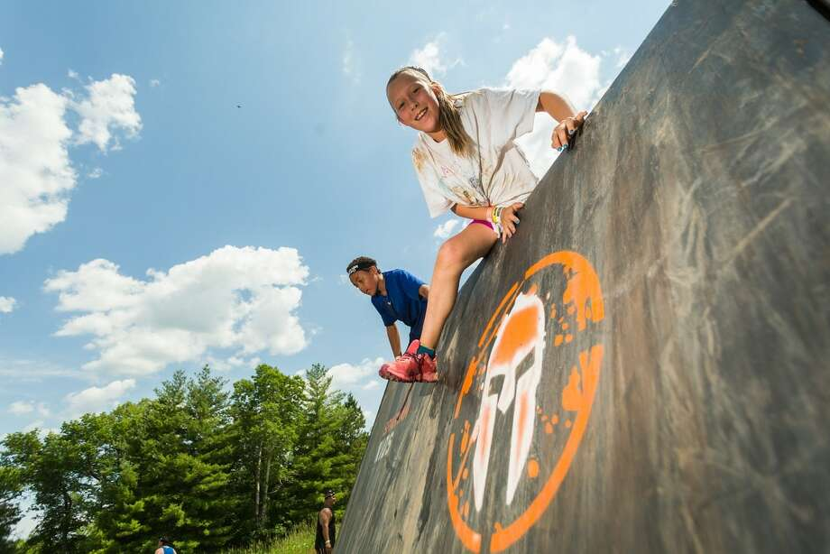 The Spartan Race is bringing its first major kids-only event to Stamford in September. Photo: Contributed / Contributed / Contributed