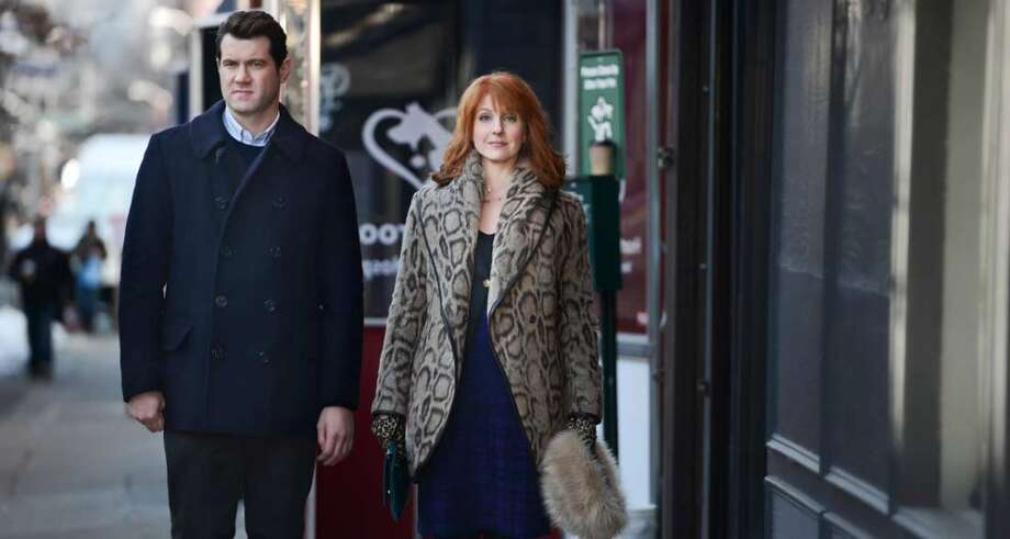 "Billy Eichner and Julie Klausner are ""Difficult People"" in the new Hulu series debuting on Wednesday, August 5th. Photo: HULU"