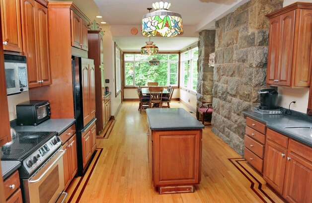 Kitchen in Mike Chrys' house on the shores of Lake George Friday June 12, 2015 in Bolton Landing, NY.   (John Carl D'Annibale / Times Union) Photo: John Carl D'Annibale / 00032208A