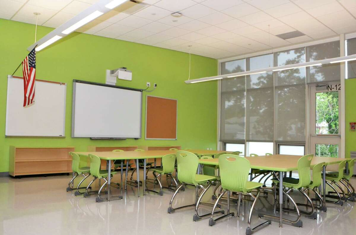 On September 3, 2015, the newly built Victoria Soto School will open for about 290 students. The elementary school, named after a teacher from Stratford that was killed in the Sandy Hook Elementary School shooting, is equipped with special security measures.