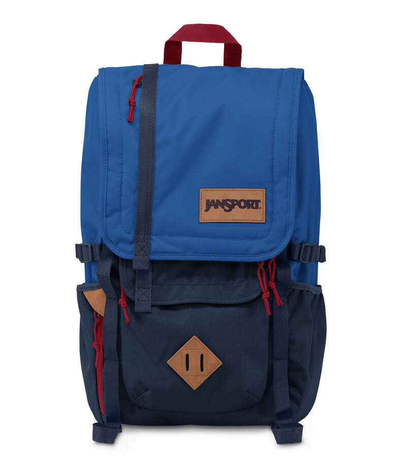 Outdoor protection: JanSport's Hatchet  has dual purpose sleeves that can carry both laptops and hydration systems.