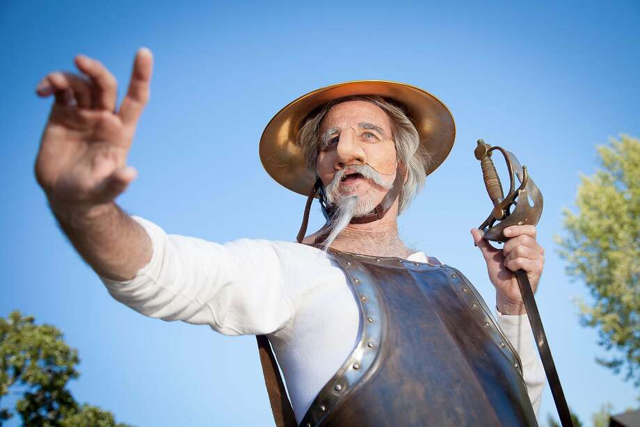 "Ron Campbell in the title role of ""Don Quixote"" at Marin Shakespeare Company. Photo: Steven Underwood"