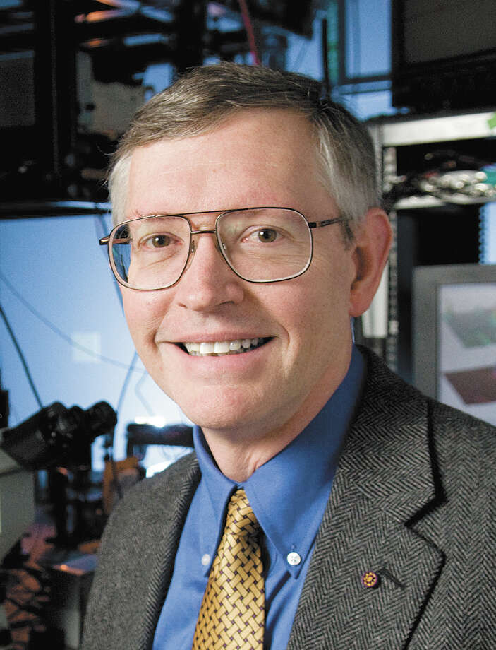 Dr. W.E. Moerner, a San Antonio native and scientist at Stanford University who won the Nobel Prize for chemistry in 2014, has been selected as the winner of this year's Palmaz Award. His work led to the development of the first super-resolution microscope. Photo: Stanford News Service / Photographs provided by the Stanford University News Service are to be used – with appropriate credit – for editoria