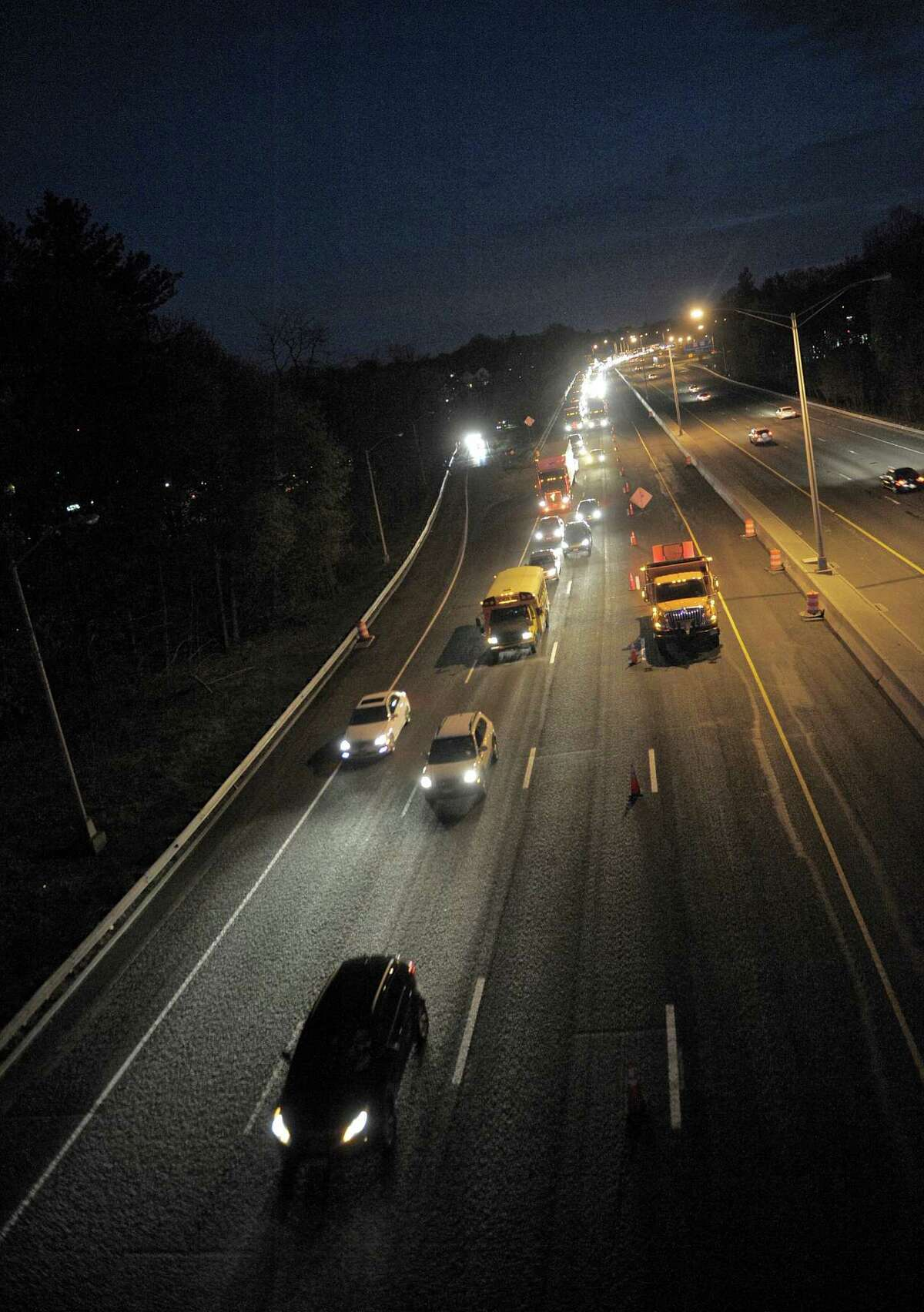 ON OUR ROADSWhy are the overhead lights on our interstates and parkways always burned out instead of illuminating the road for better nighttime safety?