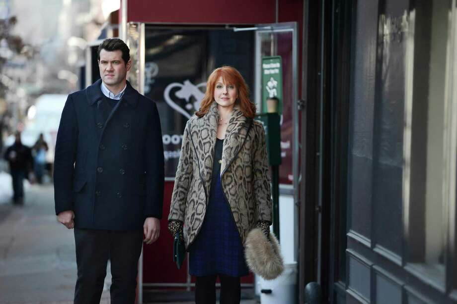 "Billy Eichner and Julie Klausner are the hilariously obnoxious pair in   Hulu's summer comedy, ""Difficult People."" Photo: Hulu / Hulu"