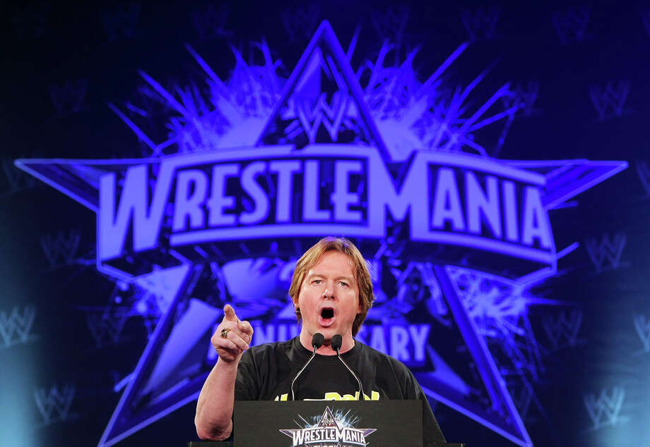 "WWE Hall of Fame pro wrestler ""Rowdy"" Roddy Piper died July 31, 2015 of cardiac arrest. ABOVE:  ""Rowdy"" Roddy Piper attends the WrestleMania 25th anniversary press conference at the Hard Rock Cafe on March 31, 2009 in New York City.  (Photo by Andrew H. Walker/Getty Images) Photo: Andrew H. Walker, Getty Images / 2009 Getty Images"