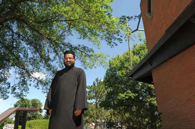 Rev. Sujit Thomas of St. Paul's Indian Orthodox Church on Friday July 31, 2015 in Niskayuna, N.Y. (Michael P. Farrell/Times Union) Photo: Michael P. Farrell / 10032847A