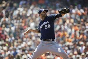 The addition of Mike Fiers expands the pitching rotation for the Houston Astros - Photo
