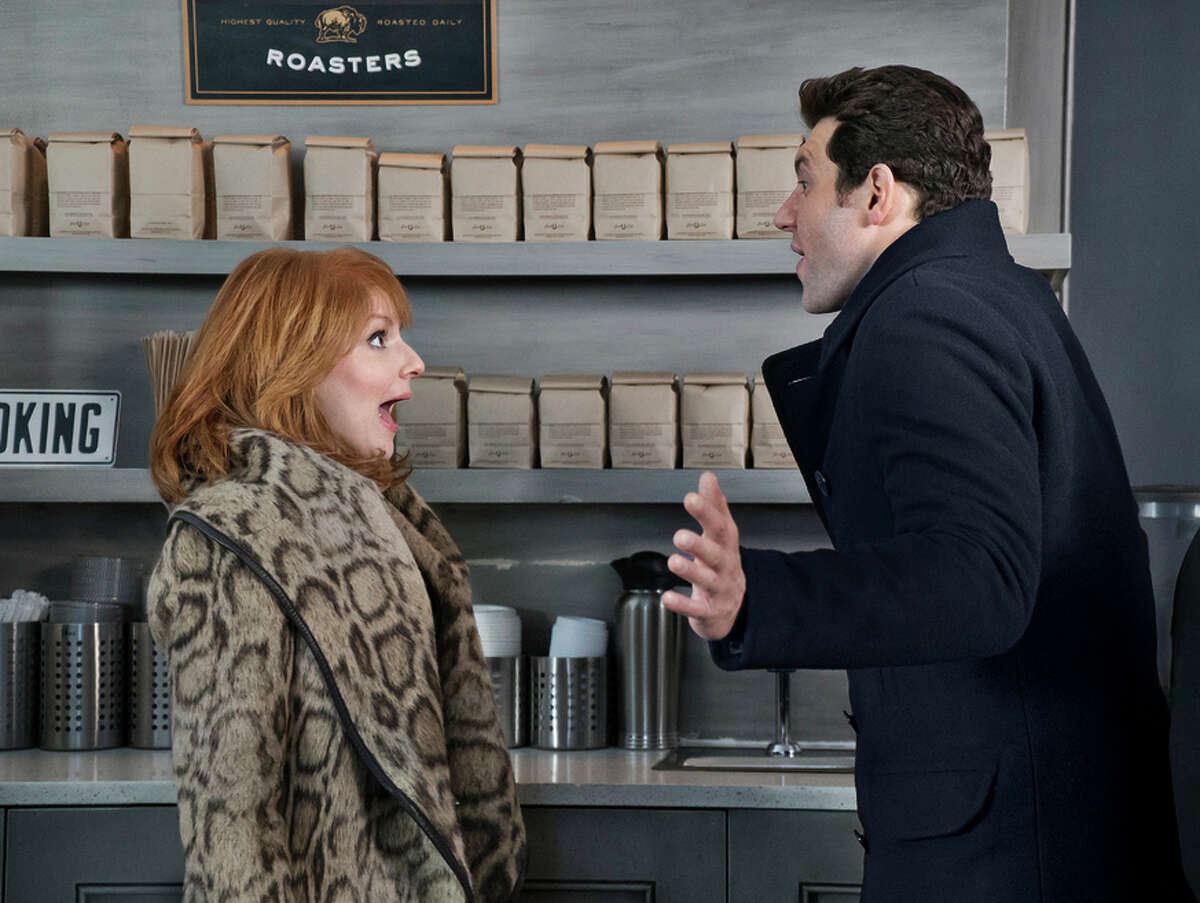 Julie Klausner and Billy Eichner play obnoxious comedians who think the problem is other people.