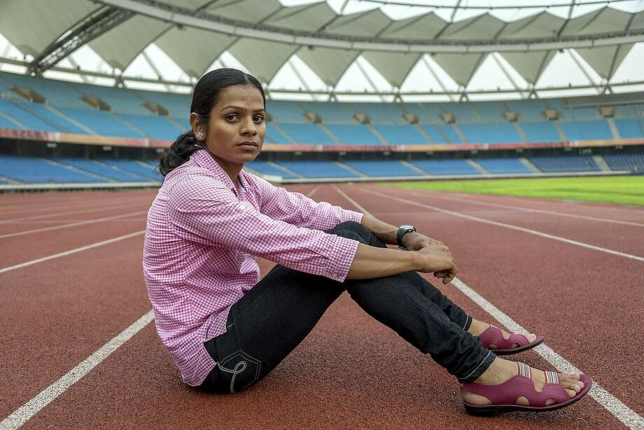FILE -- Dutee Chand at Jawaharlal Nehru stadium in New Delhi, India, Sept. 10, 2014. A final appeals court for global sports has ruled that Chand, a sprinter with the condition hyperandrogenism who was barred from international competition because of her high natural levels of testosterone, must be allowed to compete. (Graham Crouch/The New York Times) Photo: Graham Crouch, New York Times