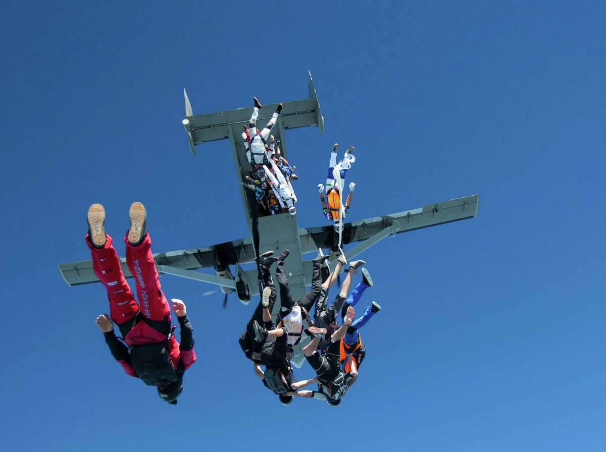 SkydivingFor you dads wanting to take the plunge for real, there is a place just up the road in San Marcos where you can live life in the fast lane for an afternoon. Skydive Spaceland San Marcos517 Airfield Road, Texas 80 South512-488-2214 Skydive Castroville 10527 Airport Road (830) 444-5003